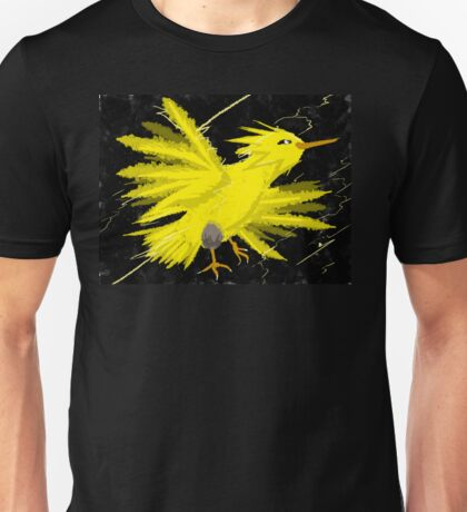 Zapdos Through the Storm Unisex T-Shirt