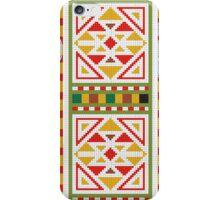 Tribal Totem Pixel Abstract Texture iPhone Case/Skin