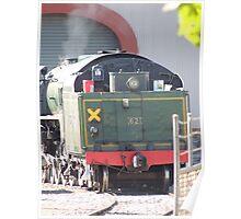 Steam Ranger Warming Up Poster