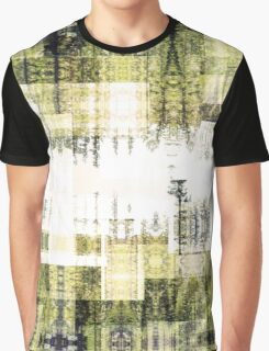 Tape Echo Forest Graphic T-Shirt