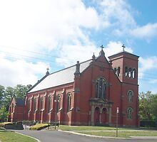 St Ambrose Church Woodend Vic Australia (2) by Margaret Morgan (Watkins)