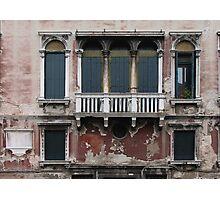 Venice Facade Photographic Print