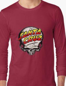 Santa Cruz Skull Long Sleeve T-Shirt