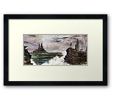 Ocean OF Time Framed Print
