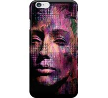 Goth Dark Face Abstract iPhone Case/Skin