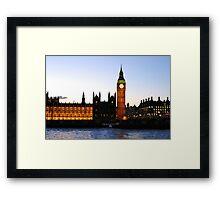 BIG BEN-London. Framed Print