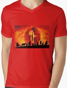 The Fellowship are Being Watched Mens V-Neck T-Shirt