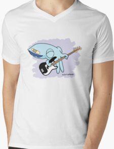 Rufus playing bass Mens V-Neck T-Shirt
