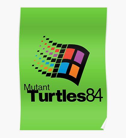 Turtles 84 Poster