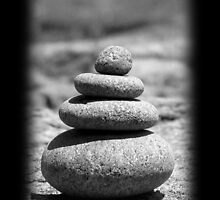 Stacked Stones by Susan Segal