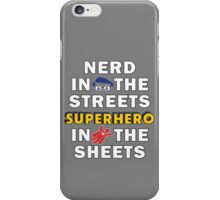 Nerd in the Streets iPhone Case/Skin