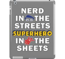 Nerd in the Streets iPad Case/Skin