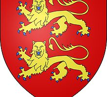 Coat of Arms of Normandy by abbeyz71
