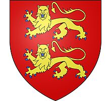 Coat of Arms of Normandy Photographic Print
