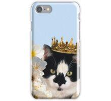 Cat queen iPhone Case/Skin