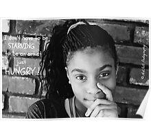 Starving Artist Poster