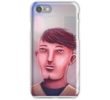 Just three friends chilling in the city iPhone Case/Skin