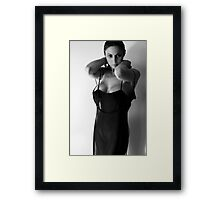 Semi-dressed Framed Print
