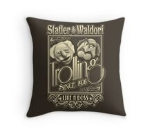 Grandfathers of Troll Throw Pillow