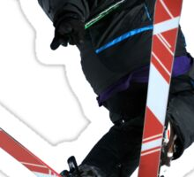 Free Ride jumper Sticker