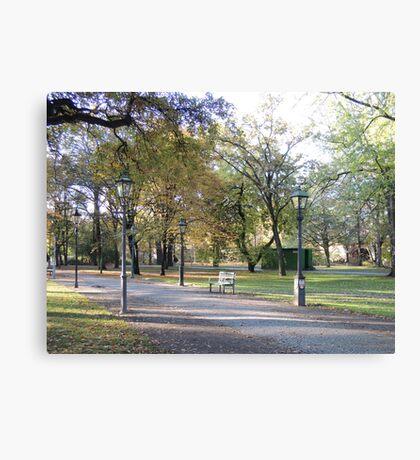 Berlin Park Canvas Print