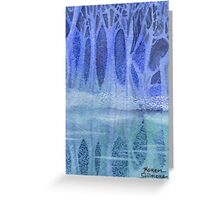 Ice Between Two Worlds Greeting Card