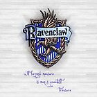 Ravenclaw Crest by piratice