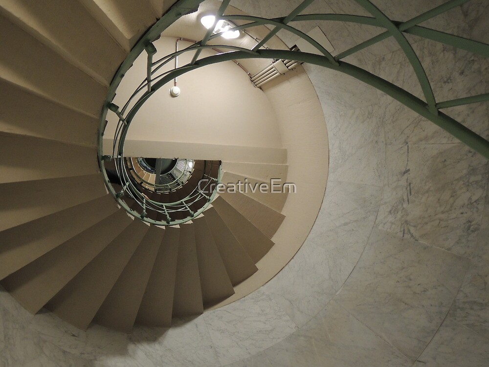 The Spiral Staircase by CreativeEm