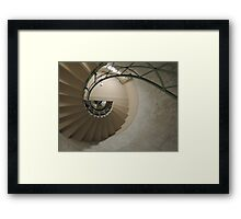The Spiral Staircase Framed Print