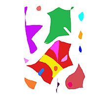 Modern Sofa Relax Raindrops Sound Fairy Photographic Print