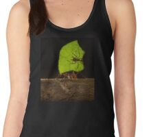 Ant Carrying Leaf and Ant Women's Tank Top