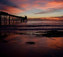 Catherine Hill Bay Jetty by Chris Prior