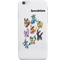 Eeeveelutions-Ipod iPhone Case/Skin
