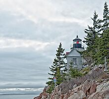 Bass Harbor Head Light by Richard Bean