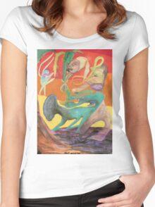 Spiritual Portrait - Jamie B. Women's Fitted Scoop T-Shirt