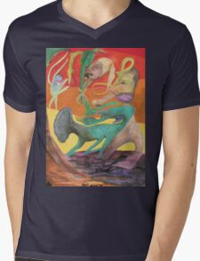 Spiritual Portrait - Jamie B. Mens V-Neck T-Shirt
