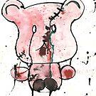 A forgotten teddy by Natasha O'Connor