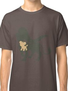 PKMN Silhouette - Litleo Family (Female) Classic T-Shirt