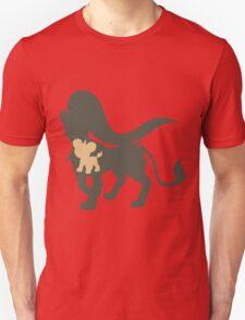 PKMN Silhouette - Litleo Family (Female) T-Shirt