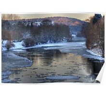 Impressions of Bewdley - Winter Chill Poster