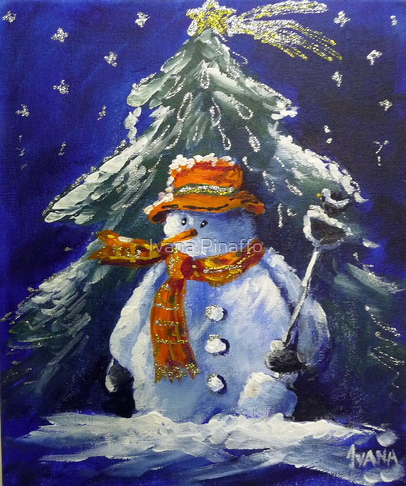 The snowman by Ivana Pinaffo