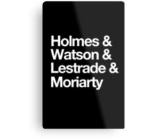 The Men Of BBC Sherlock Metal Print
