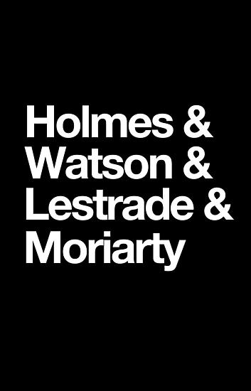 The Men Of BBC Sherlock by fangirlshirts