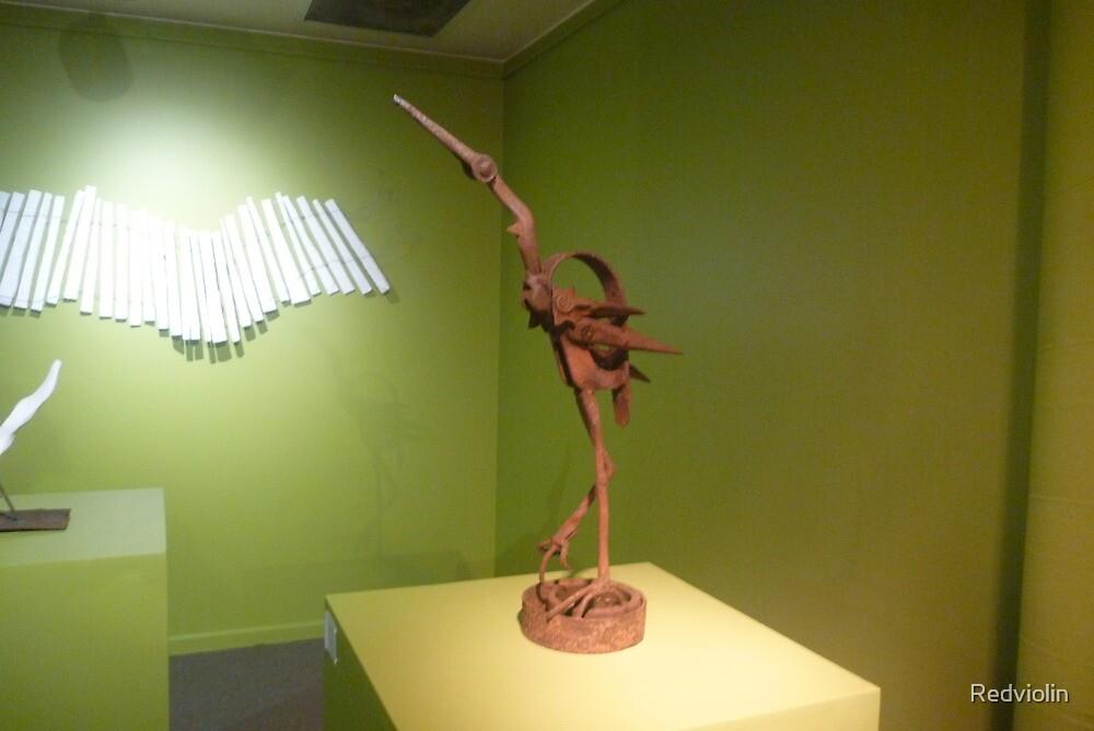 Egret (Orange Regional Gallery) by Redviolin