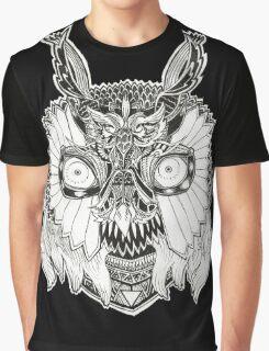 doodle owl Graphic T-Shirt