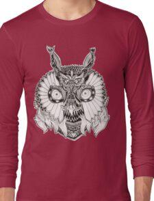 doodle owl Long Sleeve T-Shirt