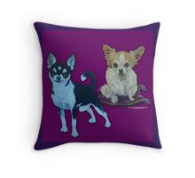 Chihuahua Buddies Throw Pillow