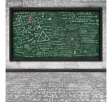 maths formula Photographic Print