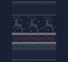 Christmas Knit Version 2 Kids Tee