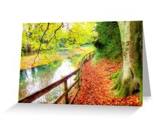 The Silent Pool,  Shere - Orton Greeting Card